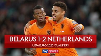 Wijnaldum wonder goal in Netherlands win