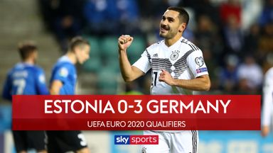 Ten-man Germany overcome Estonia