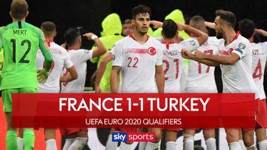 France 1-1 Turkey