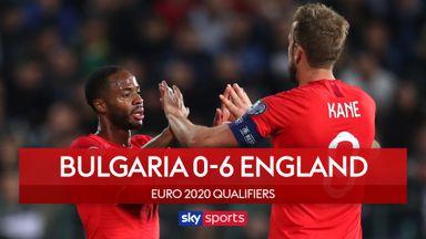Bulgaria 0-6 England