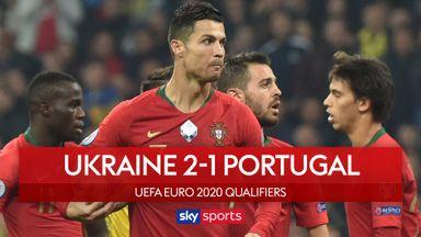Ukraine 2-1 Portugal