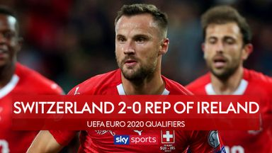 Swiss beat 10-man Rep of Ireland