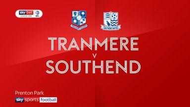 Tranmere 1-1 Southend