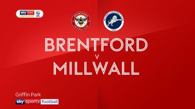 Brentford 3-2 Millwall