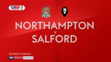 Northampton 2-0 Salford