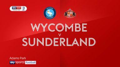 Wycombe 1-0 Sunderland
