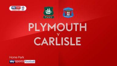 Plymouth 2-0 Carlisle