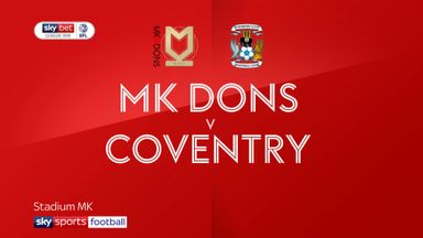 MK Dons 0-0 Coventry