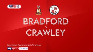 Bradford 2-1 Crawley