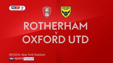 Rotherham 1-2 Oxford