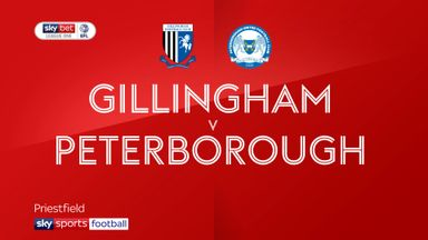 Gillingham 1-2 Peterborough