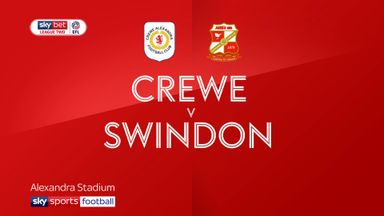 Crewe 3-1 Swindon