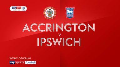 Accrington 2-0 Ipswich