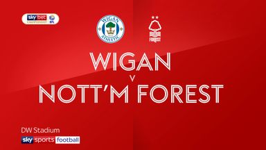 Wigan 1-0 Nottingham Forest