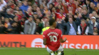 Rashford gives Utd the lead! (36)