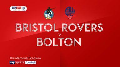 Bristol Rovers 0-2 Bolton