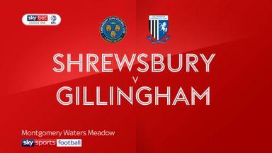 Shrewsbury 1-1 Gillingham