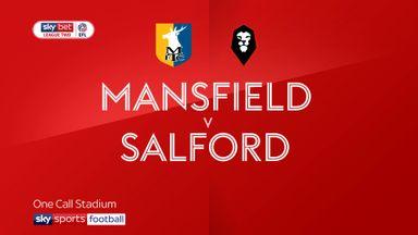 Mansfield 1-2 Salford