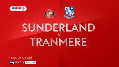 Sunderland 5-0 Tranmere