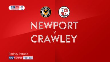 Newport 1-1 Crawley