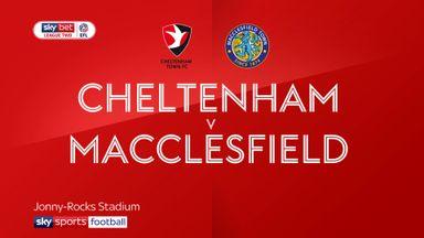 Cheltenham 3-0 Macclesfield