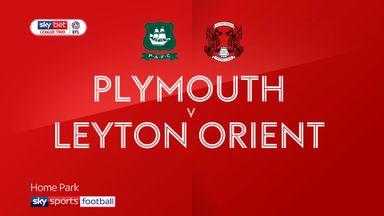 Plymouth 4-0 Leyton Orient
