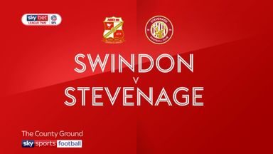 Swindon 1-0 Stevenage