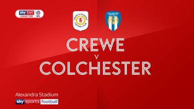 Crewe 0-0 Colchester