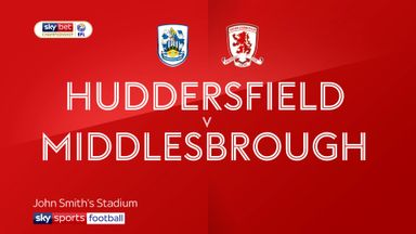 Huddersfield 0-0 Middlesbrough