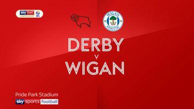 Derby 1-0 Wigan