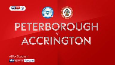 Peterborough 4-0 Accrington