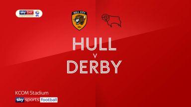 Hull 2-0 Derby