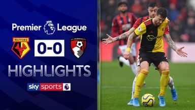 Watford remain winless after Cherries stalemate
