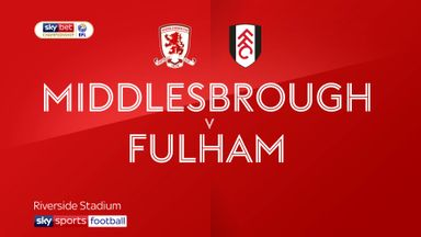 Middlesbrough 0-0 Fulham