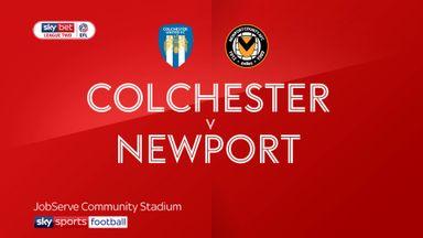 Colchester 3-1 Newport