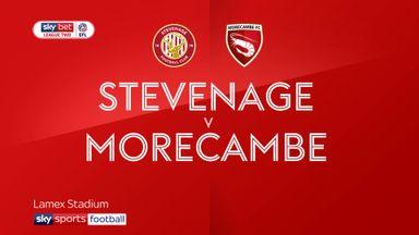 Stevenage 1-0 Morecambe