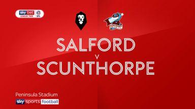Salford 1-1 Scunthorpe