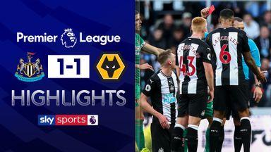 Longstaff sees red in Newcastle draw