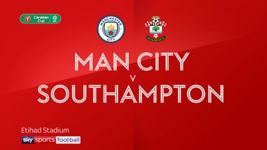 Man City 3-1 Southampton