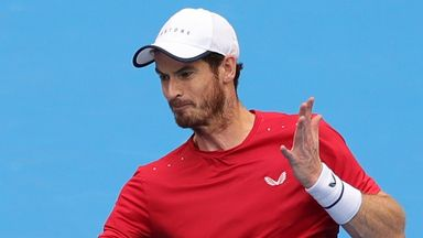Murray unhappy with Fognini behaviour