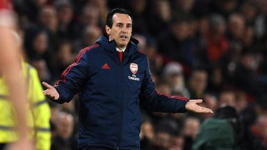 'Unai Emery is done at Arsenal'