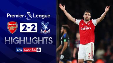 Palace hold Arsenal at the Emirates
