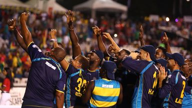 Barbados celebrate second title win
