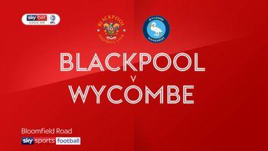 Blackpool 1-1 Wycombe