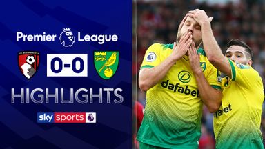 Norwich hold Bournemouth for first away point