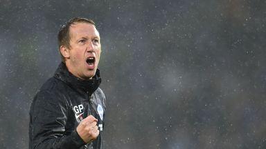 'We talk Brighton-Palace derby daily'