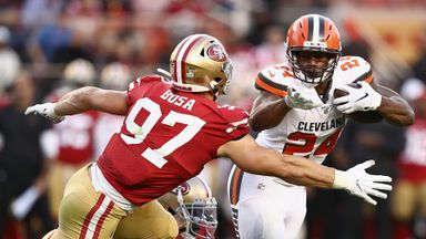Browns 3-31 49ers