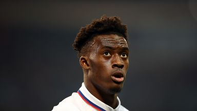 Hudson-Odoi: I wondered if I'd play again