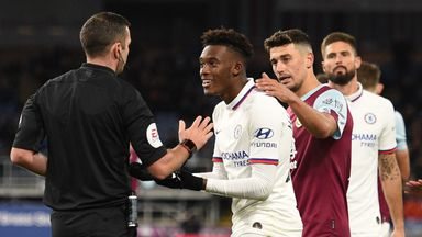 Dyche: I never called Hudson-Odoi a cheat
