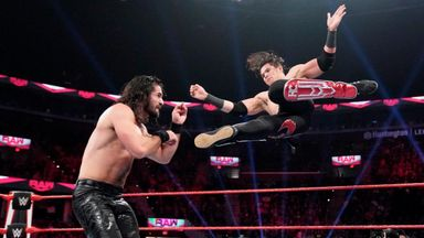 Rollins takes on Raw rookie Carrillo